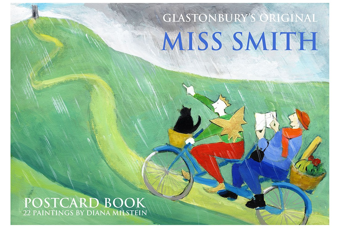 Miss Smith Postcard Book